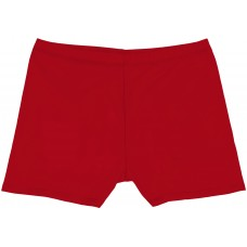Girls Short Shorts - Red